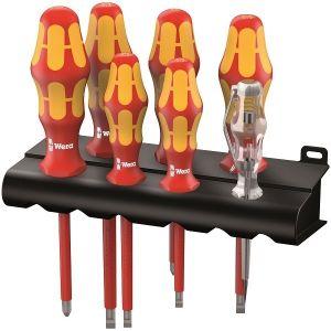 Pack de 6 tournevis isolés + détecteur de tension