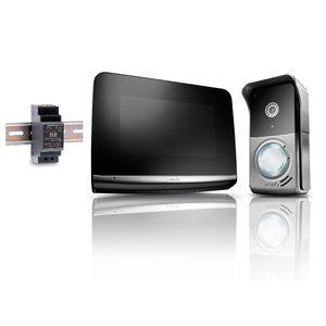 Visiophone v500 pro io + Module rail DIN