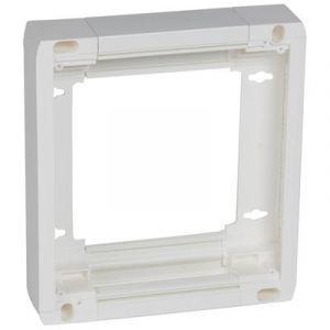 Rehausse pour platine disjoncteur branchement réference 401181 ou 401191 épaisseur 50mm - 401380 - Legrand