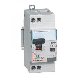 Disjoncteur différentiel 20A type AC 30mA
