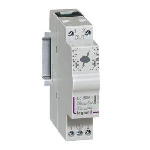 Parafoudre pour ligne téléphonique et ligne de communication 10kA à 20kA 180V maximum - 1 module