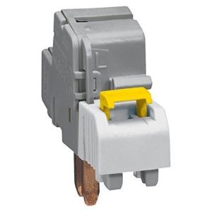 Borne de raccordement pour disjoncteur 1P+N à connexion automatique - section 4mm² à 25mm² - IP2X