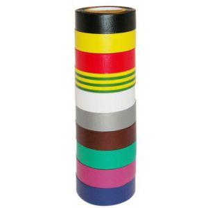 10 rubans adhésifs isolants multicolores - 1001P - BMC