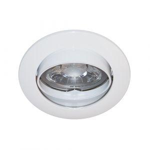 Spot encastré rond Orientable Sans Ampoule Bornier Automatique