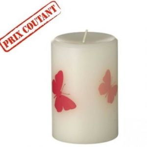 Bougie pilier papillon/petite
