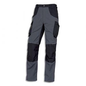 DELTA PLUS Pantalon Mach spirit Gris Noir