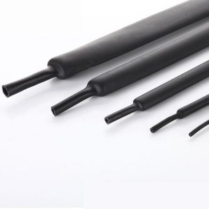 gaine thermoretractable 3mm à 1mm Noir
