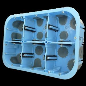 Boîte 2 x 3 postes XL Air'métic - Prof. 50 51020 Schneider