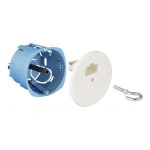 Boîte point de cente DCL diam. 67 cloison sèche - 53012 - EUR'OHM