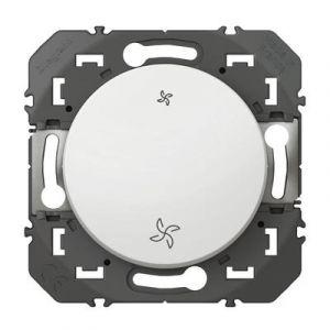 Interrupteur commande VMC dooxie finition blanc