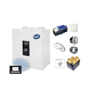 Kit VMC double flux Ideo 325 + accessoires P04
