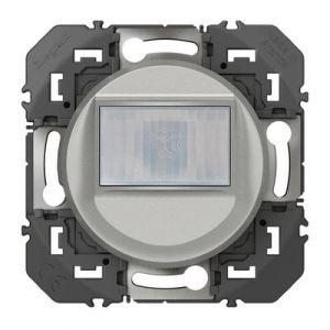 Interrupteur automatique pour minuterie en remplacement d'un poussoir dooxie finition alu