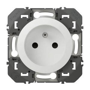 Prise de courant 2P+T à puits dooxie 16A finition blanc - 600337 - Legrand