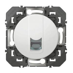 Prise blindée RJ45 cat6 FTP dooxie finition blanc - 600376 - Legrand