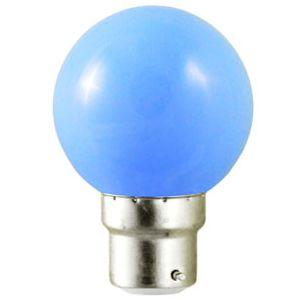Ampoule LED B22 bleu - 1W