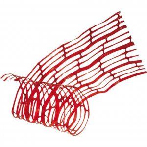 Grillage avertisseur rouge 100m