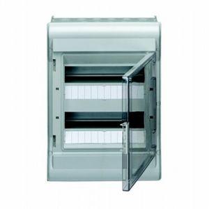 Coffret étanche Vector 2 rangées 12 modules