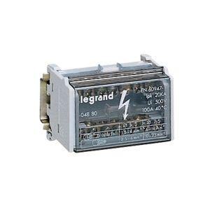 Répartiteur mod monobloc - 2P - 100A