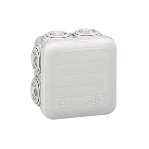 Boîte de dérivation carrée 80 mm