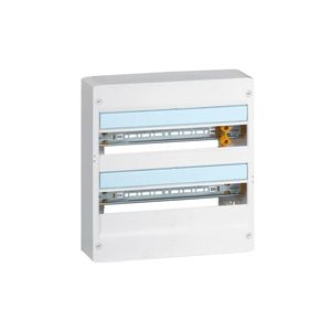 Coffret Drivia 18 modules 2 rangées - Blanc - 401222 - Legrand