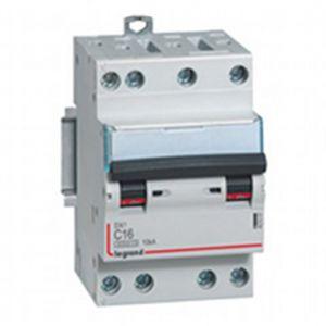 Disjoncteur tétrapolaire vis/vis - 25A