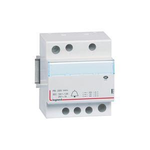 Transformateur pour sonnerie - 230 V / 24-12 V - 24-18 VA