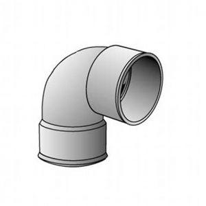 Coude FF 87° diamètre 100