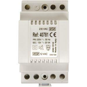 Transformateur 230V / 12V AC - 1,5A