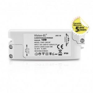 Alimentation pour LED 10W 24V DC