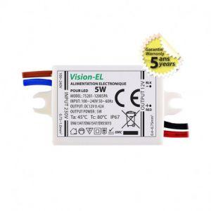 Alimentation pour LED 5W 12V DC