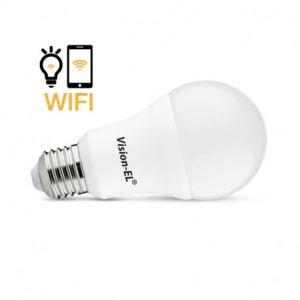 Ampoule LED E27 Connectée 12W RGB Wifi - Bâtir Moins Cher - Vision-EL