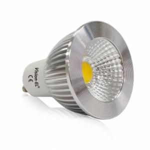 Ampoule LED GU10 5W Dimmable 4000°K Aluminium