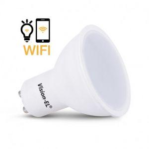 Ampoule Led GU10 Connectée 5W dimmable Wifi