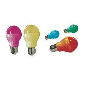 Ampoule LED 9W  E27 couleur au choix