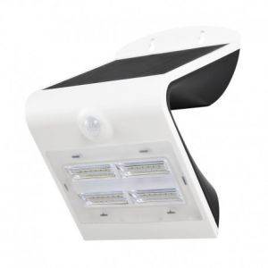 Applique Murale LED Solaire 3.2W 4000°K Blanc + Détecteur