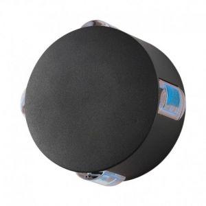 Applique Murale Rond LED 6W Diffuseur Bleu Gris IP54
