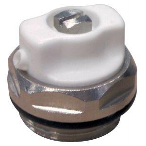 Bouchon purgeur pour radiateur acier 15x21 bec orientable (1/2)