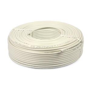Câble souple blanc 3G1.5 en 100 mètres