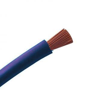 Cable souple H07VK 10 Bleu 100M - 10046786-100