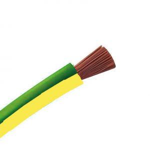 Cable souple H07VK 10 Vert/Jaune 100M - 10043910-100