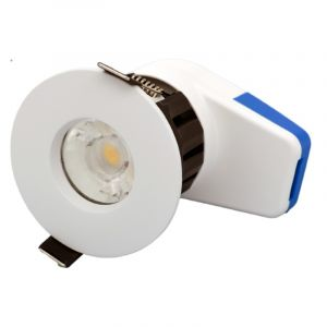 Spot led 7W fixe blanc RT2012 CTC Calipso IP65 Dimmable