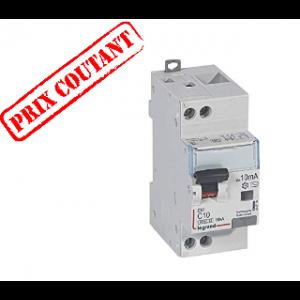 Disjoncteur différentiel mono DX3 AC 10A 10mA