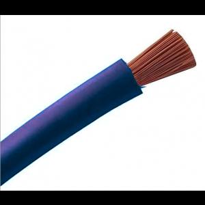 Cable souple H07VK 6 Bleu 100M