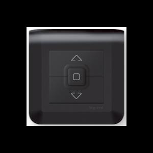 Interrupteur volet roulant - Mosaic Noir