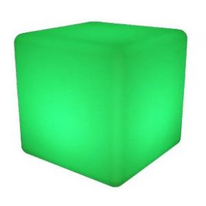 Cube lumineux RGB sans fil + télécommande