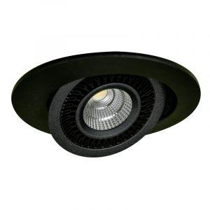 Spot led 7W Orientable noir RT2012 CTC DISCO