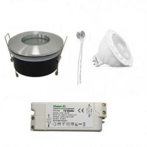Kit-Spot-Fixe-Etain-IP65-12V