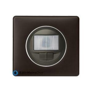 Ecodétecteur avec marche/arrêt Céliane graphite - Plaque Basalte