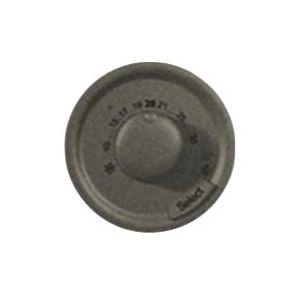 Enjoliveur thermostat d'ambiance - Graphite