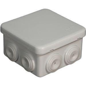 Boîte de dérivation carré 80x80x45mm IP55
